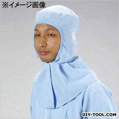 エスコ クリーンルーム用清涼キャップ(クラス1-10万対応) 青 LL EA915ED-3