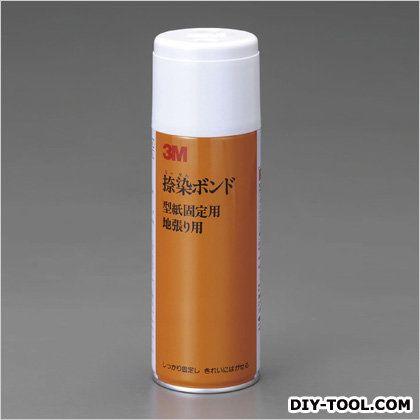 エスコ 繊維用スプレー接着剤 白 430ml EA920EA-12