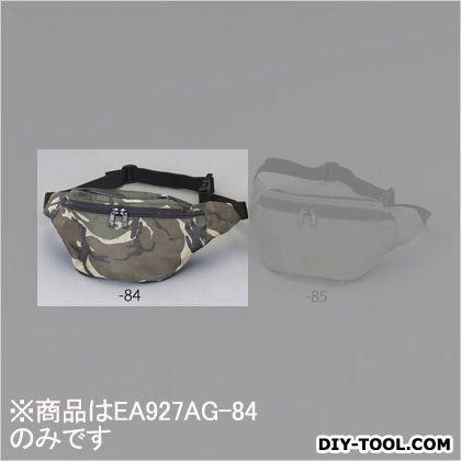 エスコ ウエストポーチ 迷彩色 200x90x140mm EA927AG-84