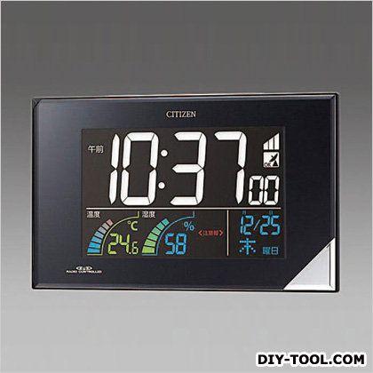 エスコ [電波]掛・置兼用時計  112x196x30mm EA798CG-55
