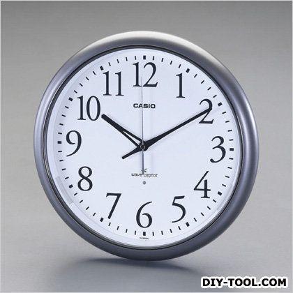 エスコ [電波]掛時計  φ330×54mm EA798CD-2A