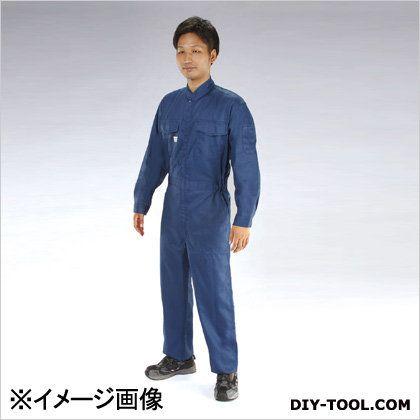継ぎ作業服(帯電防止) ネイビー LL (EA996AB-33)