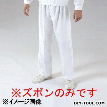 エスコ クリーンルーム用ズボン 白 3L EA996DV-54
