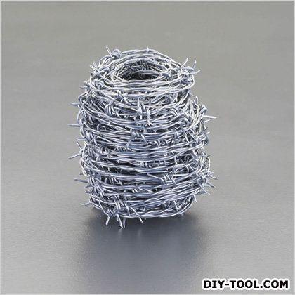 有刺鉄線(亜鉛メッキ) 1.6mmx100m (EA951AV-11)