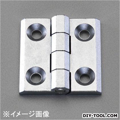 エスコ フラットヒンジ(亜鉛ダイキャスト)  60x60mm EA951CY-660