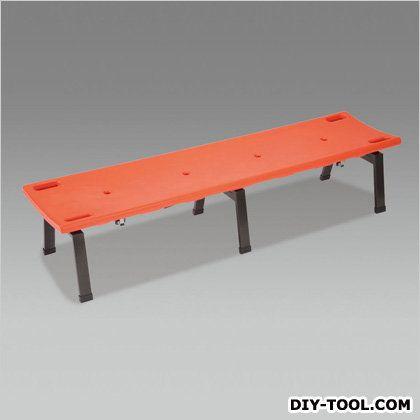 ベンチ[担架兼用]  1780x460x380mm EA956XE-60