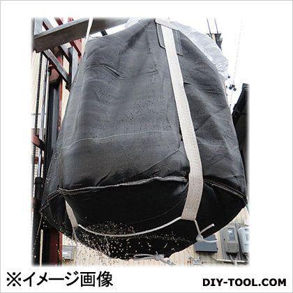 エスコ [水切り用]丸型フレコンバッグ 黒 1.0ton EA981WM-31A