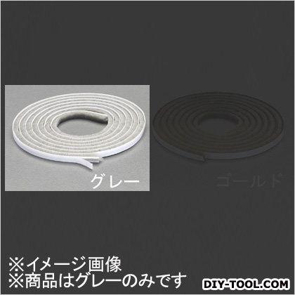 すき間用モヘアシール材 グレー 9x9mm/2m EA944KD-103