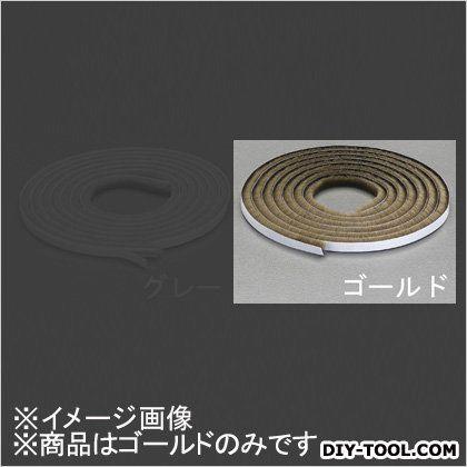すき間用モヘアシール材 ゴールド 6x6mm/2m EA944KD-112