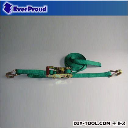 ラチェット式カギフック グリーン 25mm 0.5×4M (EGR20540K)