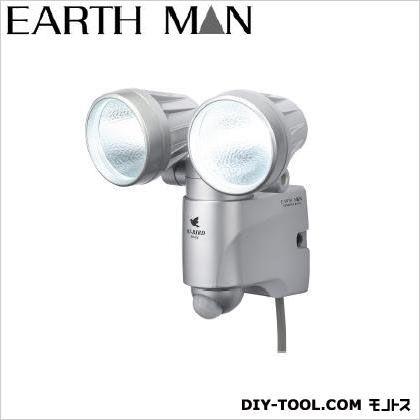 AC100V式 LEDセンサーライト ダブル7W×2  120×160×180(mm) (SLT-160)