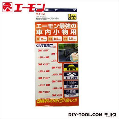 超強力テープ PP・PE用  H180×W85×D2mm 1717