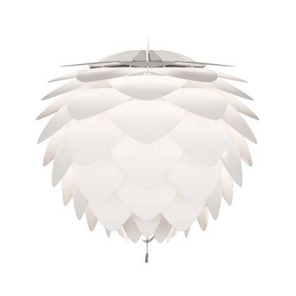 インテリア輸入照明 Silvia (3灯) ホワイトコード  02007-WH-3