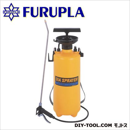 ダイヤスプレー プレッシャー式噴霧器 単頭式 コンクリート型枠 剥離剤用・除草剤用  7L用 No.5701