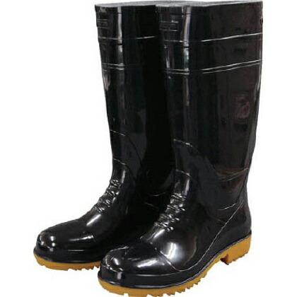 福山ゴム 耐油長靴先芯入り ガロア#1ブラック3L   GLA13LB 1 足 耐油・耐薬品用安全靴 安全靴