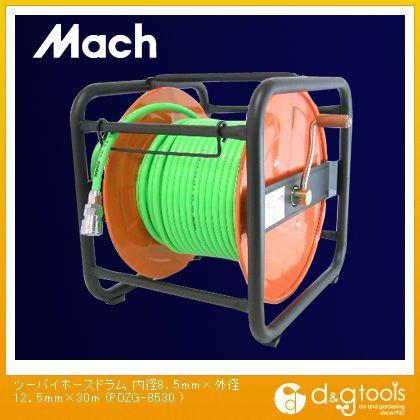 ツーバイエアホースドラム(エアリール/エアドラム) 内径8.5mm×外径12.5mm×30m (PDZG-8530 )