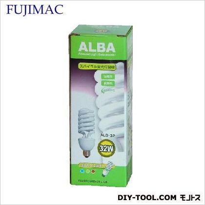 ALBA スパイラル蛍光球 屋内用 (ALB-32)