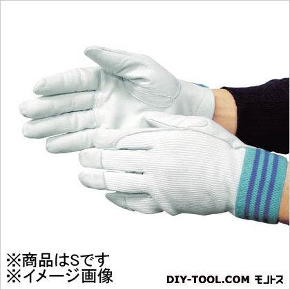 作業用革手袋 #12A  白 S (3210)