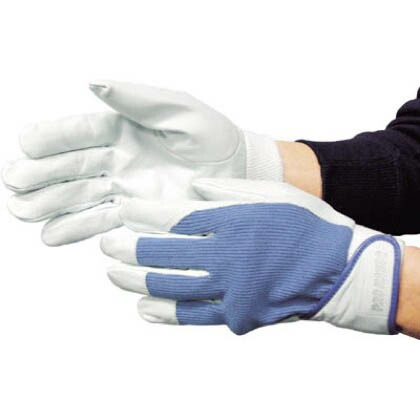 作業用革手袋 PH-301 ブルー  5271
