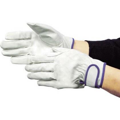 作業用革手袋 EX-233 白 M (5965)