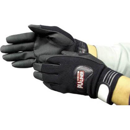 作業用手袋 PUライナーアルファ  ブラック M (0781)