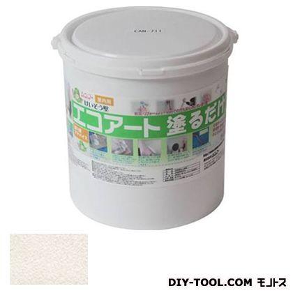 エコアート塗るだけ 珪藻土(内装専用塗り壁材) フローラルホワイト 5kg EAN711