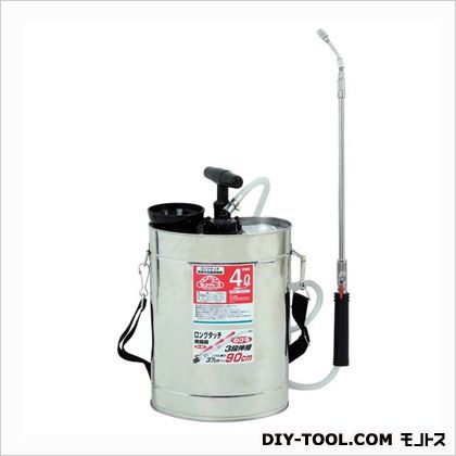セフティ3 ロングタッチ肩掛半自動噴霧器 4L 樹脂ポンプ