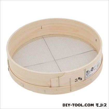 木製砂フルイ(丸型) 3.0MM 35cm