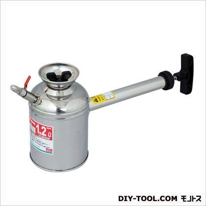 ステンレス杓型噴霧器1.2L