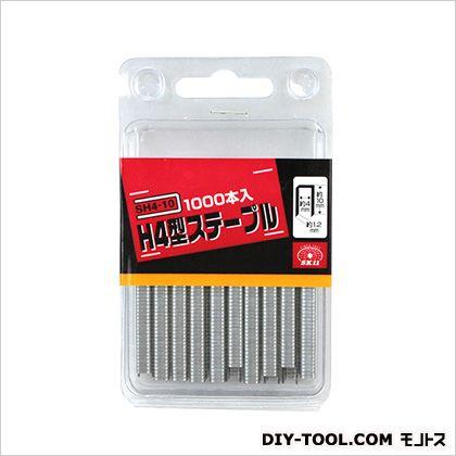 4WAY電動タッカー用 H4型ステープル   SH4-10 1000 本入