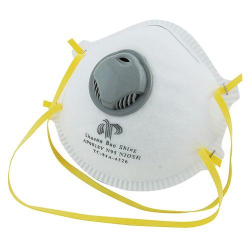 フィルターマスク弁つき   YM-13N 1PCSN95