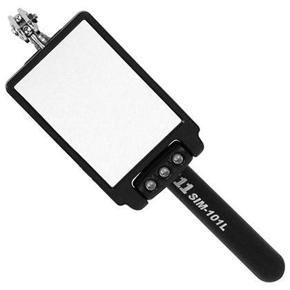 LEDライト付き 点検鏡   SIM-101L