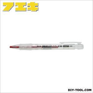 建築用ソフトカラー鉛筆ホルダー 赤 (SCH8-H)