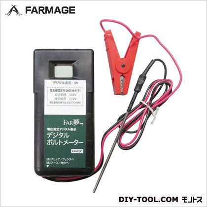 電気柵電圧計測 デジタルボルトメーター