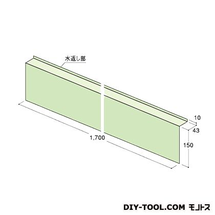 ウェザータイトサッシ用角部材R グリーン半透明 巾300×高さ300mm×奥行き43mm WTSKR 40 個