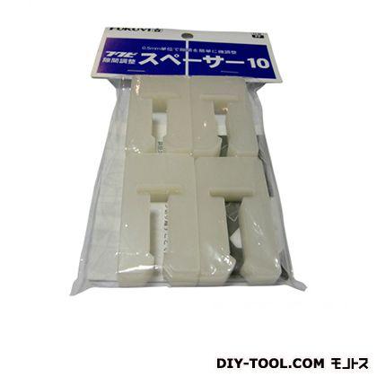 隙間スペーサー10 半透明 10×50×27mm (113399) 25袋