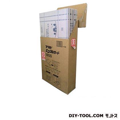 エコフルガード18SS 4つ折り  巾910×長さ1820mm 115677 10 枚