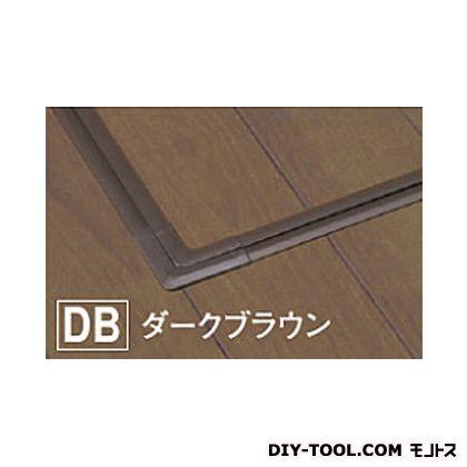 床下樹脂点検口 JT ダークブラウン 622×622×40mm(外寸) JT60DB  台