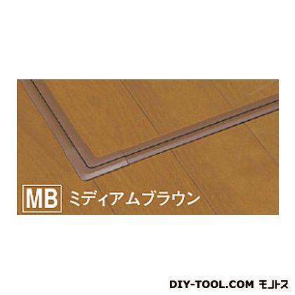 床下収納庫 JS ミディアムブラウン 622×622×465mm(外寸) JS60MB  台