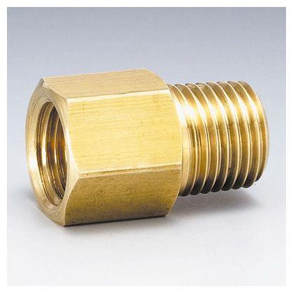 フローバル 黄銅製ねじ込み継手 オスメスソケット (GMF)  ネジ(R×Rc):1/4×1/4 GMF-02-BS