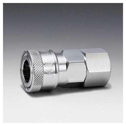 フローバル エアーカップラー ソケット メネジ型 (SF)  適用メネジ(Rc):3/8 K23-SF