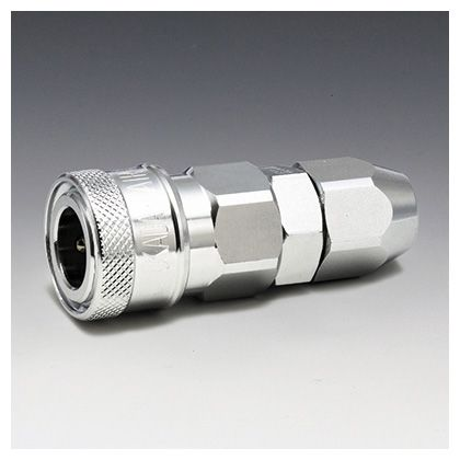 フローバル エアーカップラー ソケット ナット型 (SN)  適用ホース:φ6.5×φ10 K22-SN