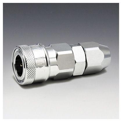 フローバル エアーカップラー ソケット ナット型 (SN)  適用ホース:φ8.5×φ12.5 K23-SN