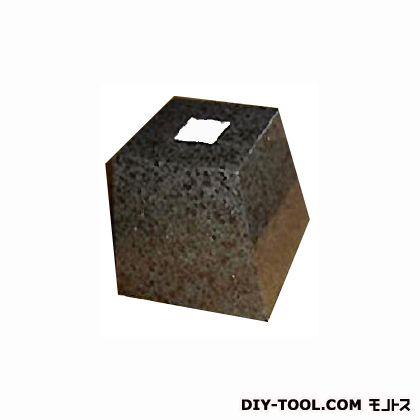 御影石柱受け 黒角9寸 黒 上270×下340×高200 F-K9-BK