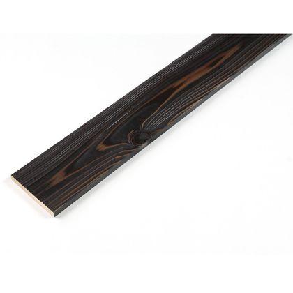 カラーリング天然杉 「UROCO」  サネ無し 焼杉 ブラック M12x95x980mm Y10