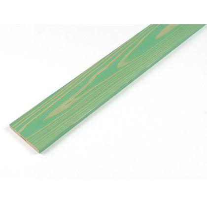 カラーリング天然杉「UROCO」サネ無し浮造り パステルグリーン S12×95×480mm U8