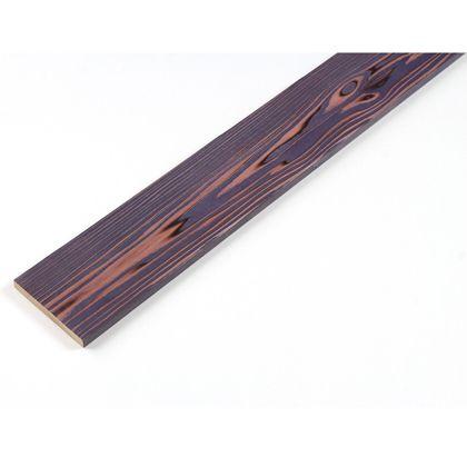 カラーリング天然杉 「UROCO」 サネ無し 焼杉 パープル L12×95×1970mm Y3
