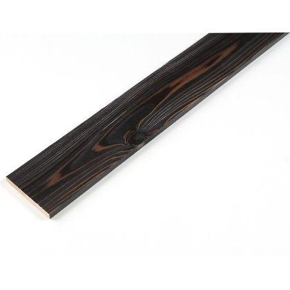 カラーリング天然杉 「UROCO」  サネ無し 焼杉 ブラック L12×95×1970mm Y10