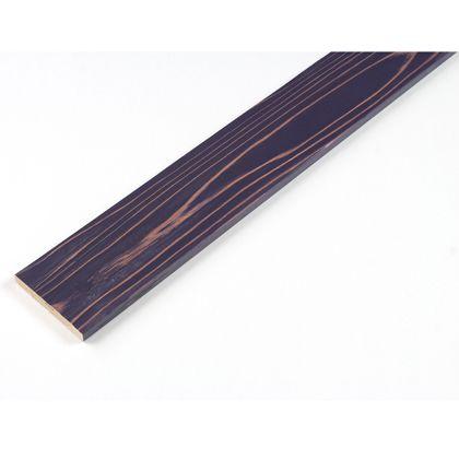 カラーリング天然杉 「UROCO」 サネ無し 浮造り パープル L12×95×1970mm U3