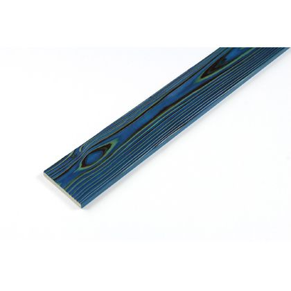 カラーリング天然杉 「UROCO」 サネ無し 焼杉 ダークブルー SS(12X95X230mm) Y1